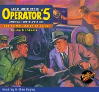 Operator #5 Audiobook - #25 Crime's Reign of Terror