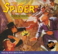 The Spider Audiobook - # 16 The City Destroyer