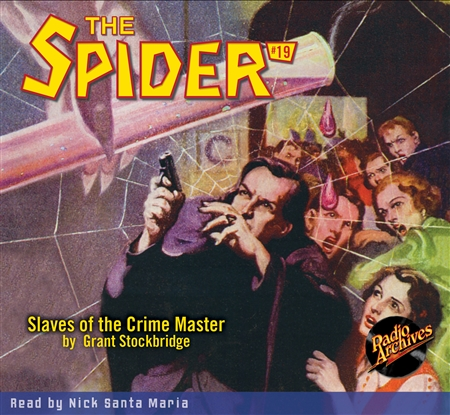 The Spider Audiobook - # 19 Slaves of the Crime Master