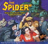 The Spider Audiobook - # 20 Reign of the Death Fiddler