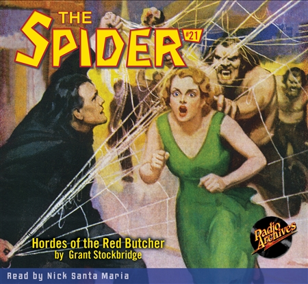 Spider Audiobook # 21 Hordes of the Red Butcher