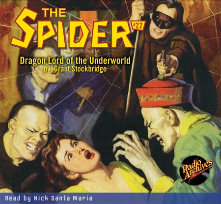 The Spider Audiobook - # 22 Dragon Lord of the Underworld