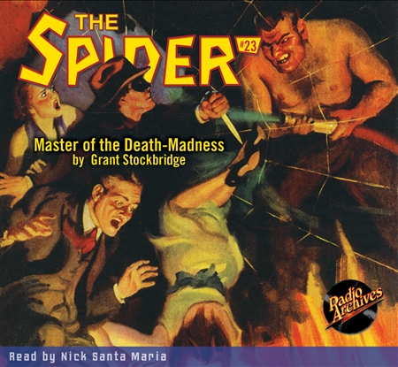 The Spider Audiobook - # 23 Master of the Death-Madness