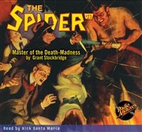 Spider Audiobook # 23 Master of the Death-Madness