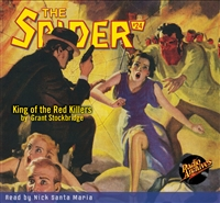 The Spider Audiobook - # 24 King of the Red Killers