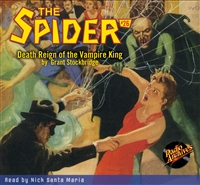 Spider Audiobook # 26 Death Reign of the Vampire King