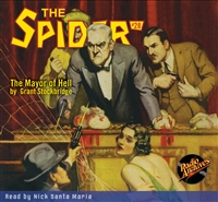 The Spider Audiobook - # 28 The Mayor of Hell
