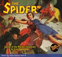 The Spider Audiobook - # 29 Slaves of the Murder Syndicate