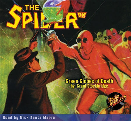 The Spider Audiobook # 30 Green Globes of Death