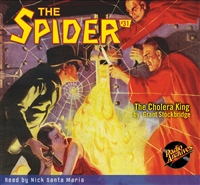 The Spider Audiobook - # 31 The Cholera King