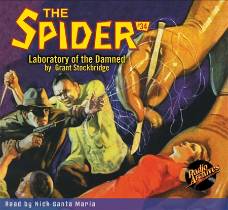 The Spider Audiobook - # 34 Laboratory of the Damned