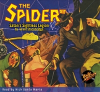 The Spider Audiobook - # 35 Satan's Sightless Legion