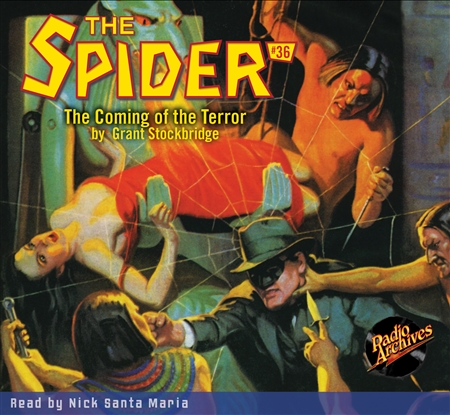 The Spider Audiobook - # 36 The Coming of the Terror
