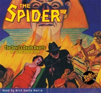 The Spider Audiobook - # 37 The Devil's Death Dwarfs