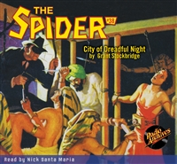 The Spider Audiobook - # 38 City of Dreadful Night