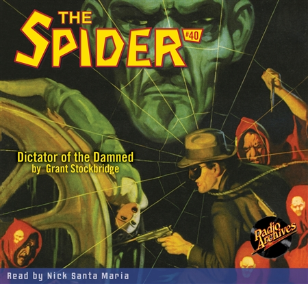 The Spider Audiobook - # 40 Dictator of the Damned