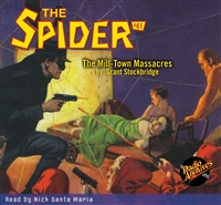 The Spider Audiobook - # 41 The Mill-Town Massacres
