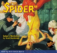 The Spider Audiobook - # 42 Satan's Workshop