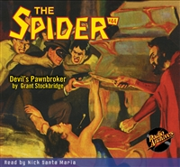 The Spider Audiobook - # 44 Devil's Pawnbroker