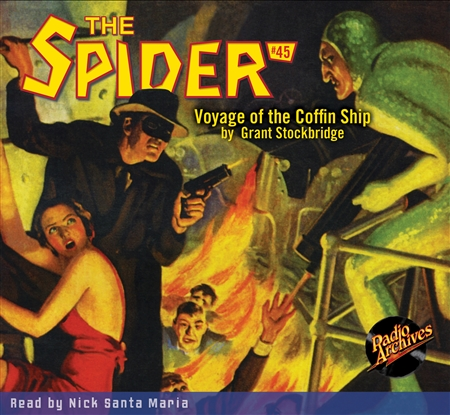 The Spider Audiobook - # 45 Voyage of the Coffin Ship