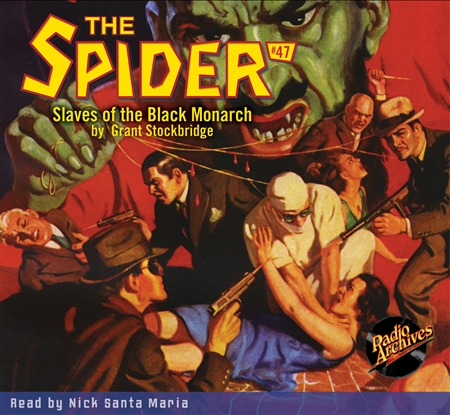 The Spider Audiobook - # 47 Slaves of the Black Monarch