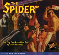 The Spider Audiobook - # 49 The City That Dared Not Eat