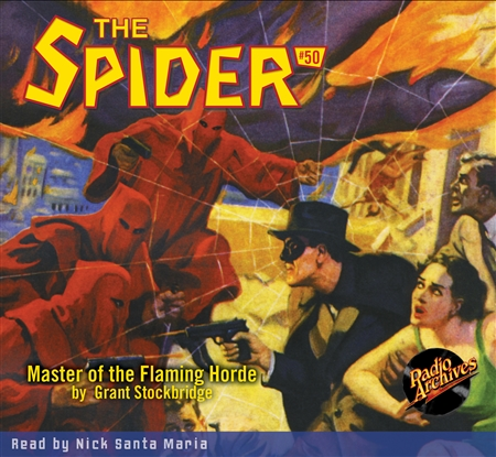Spider Audiobook # 50 Master of the Flaming Horde