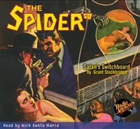 The Spider Audiobook - # 51 Satan's Switchboard