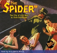 The Spider Audiobook - # 53 The City of Lost Men