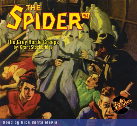 The Spider Audiobook - # 54 The Grey Horde Creeps