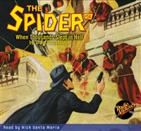 The Spider Audiobook - # 56 When Thousands Slept in Hell