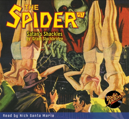 The Spider Audiobook - # 57 Satan's Shackles
