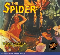 The Spider Audiobook - # 59 The Devil's Candlesticks