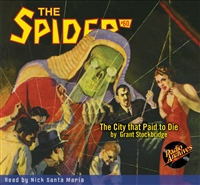 The Spider Audiobook - # 60 The City that Paid to Die