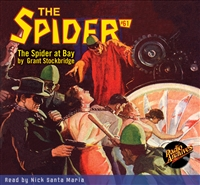 The Spider Audiobook - # 61 The Spider at Bay