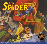 Spider Audiobook #62 Scourge of the Black Legions