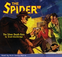 The Spider Audiobook - # 66 The Silver Death Rain