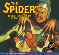 The Spider Audiobook - # 67 Blight of the Blazing Eye