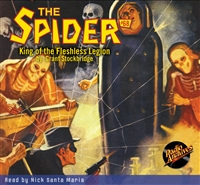 The Spider Audiobook - # 68 King of the Fleshless Legion