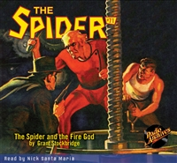 The Spider Audiobook - # 71 The Spider and the Fire God