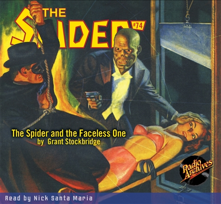 The Spider Audiobook # 74 The Spider and the Faceless One