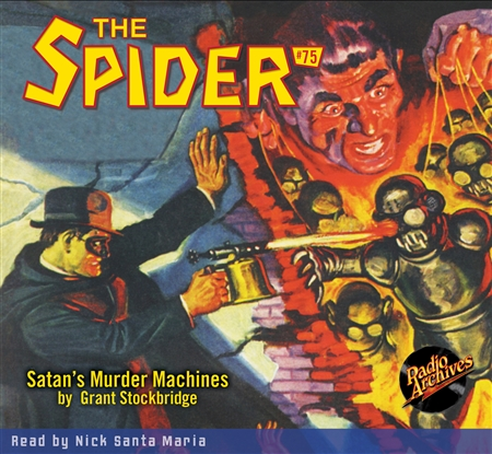 The Spider Audiobook - # 75 Satan's Murder Machines