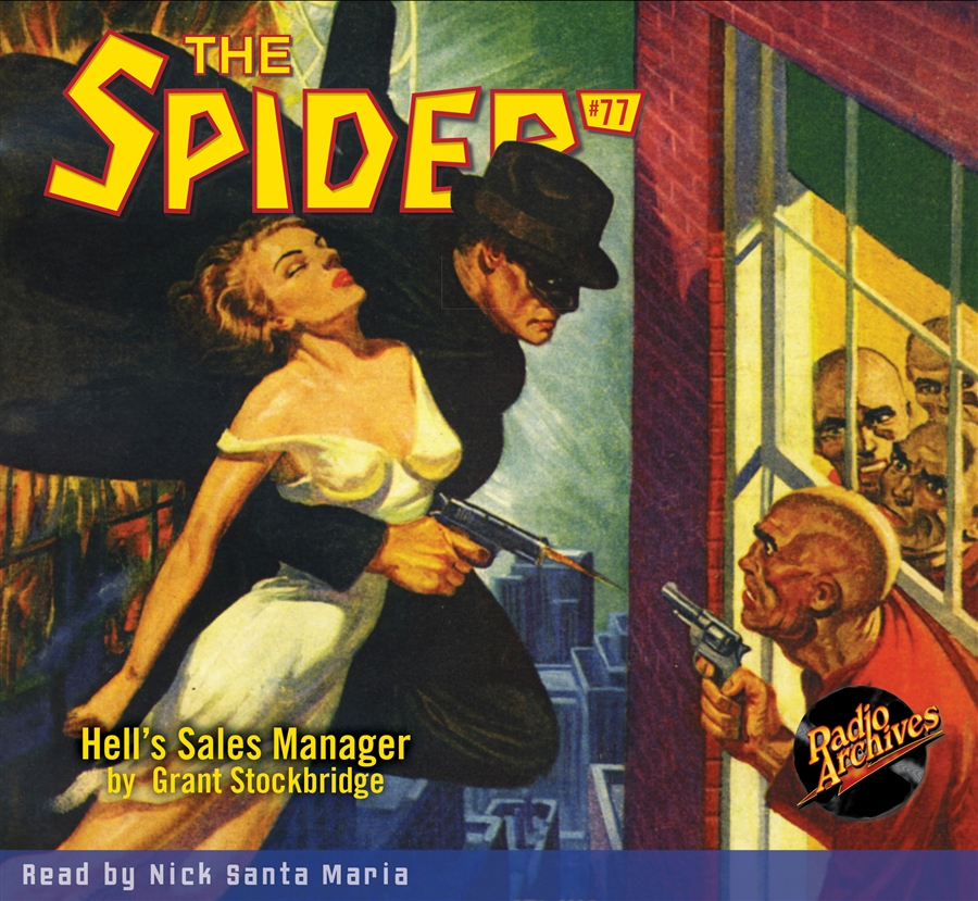 Spider Audiobook # 77 Hell's Sales Manager - 5 hours [Audio CDs] #RA638