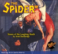The Spider Audiobook - # 78 Slaves of the Laughing Death