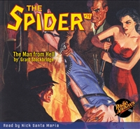 The Spider Audiobook - # 79 The Man from Hell