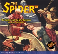 The Spider Audiobook - # 80 The Spider and the War Emperor