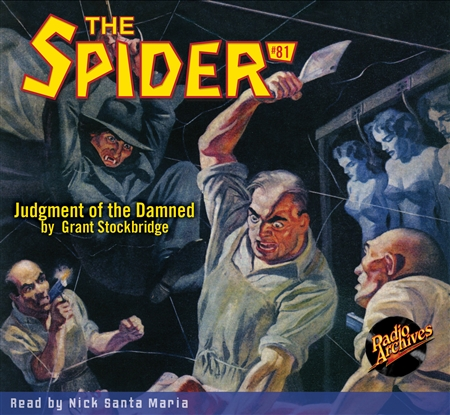 The Spider Audiobook - # 81 Judgment of the Damned