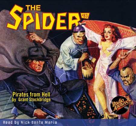 The Spider Audiobook - # 83 Pirates from Hell