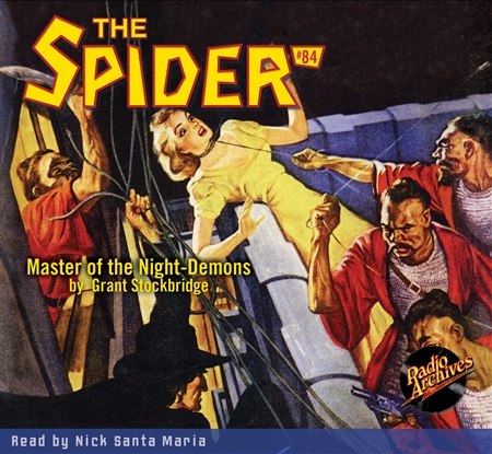 The Spider Audiobook - # 84 Master of the Night-Demons