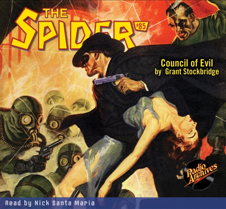 The Spider Audiobook - # 85 Council of Evil